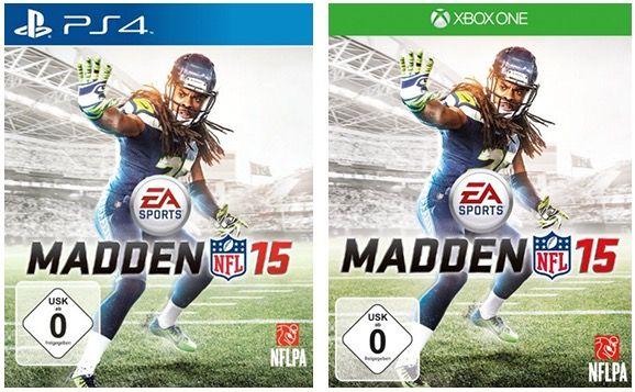 Madden NFL 15 für PS4 & Xbox One ab je 19,99€ (statt 30€)