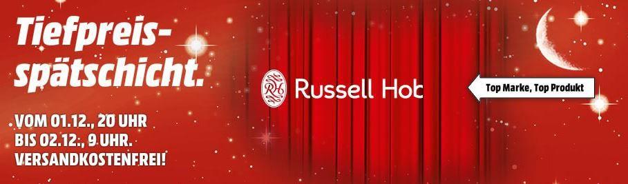 Russell Hobbs Colours Glas Kaffeemaschine für 31€ bei der MediaMarkt Tiefpreisschicht