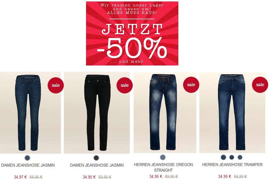 Mustang Jeans ab 34,95€ im Mustang Lager Räumungs Verkauf   Update!