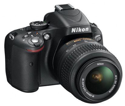 Nikon D5100 SLR Digitalkamera mit 18 55mm Objektiv ab 349€