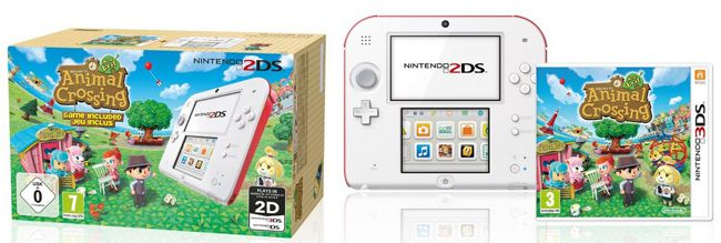 Nintendo 2DS +  Animal Crossing für 111€   Update