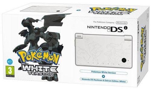 Nintendo DSi Pokémon Weiße Edition Konsole + Pokémon Spiel für 79,99€