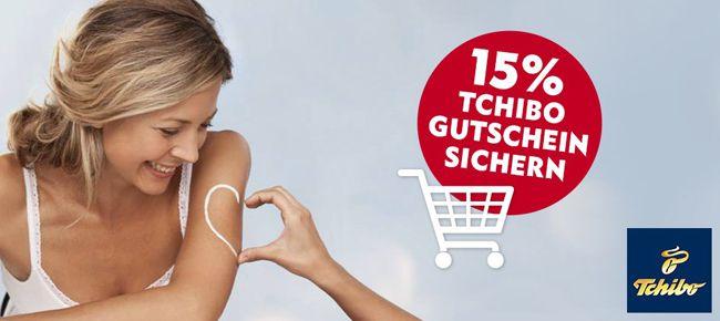 15% Tchibo Gutschein dank Nivea Newsletter Aktion