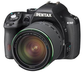 Pentax K 50 Full HD SLR Digitalkamera + 18 135 mm Objektiv statt 616€ für 449€