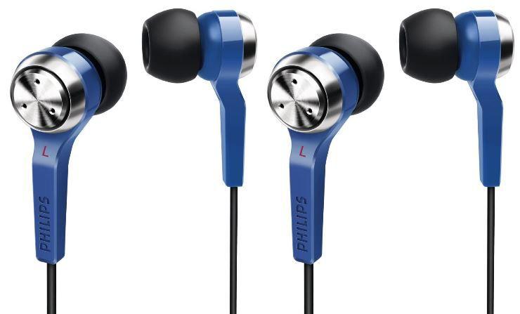 Philips SHE8500BL   Doppelpack In Ear Kopfhörer für 18,90€