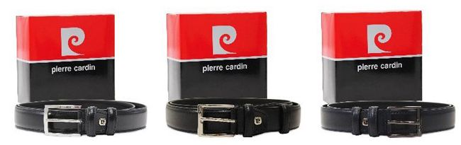Pierre Cardin Herrengürtel in verschiedenen Farben für 9,99€