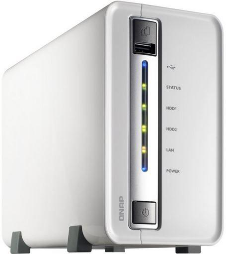 QNAP TS 212P   NAS Server ohne Festplatten für 99,90€