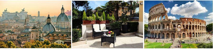 ROM Reiseangebot Rom: Flug und 4* Hotel mit Frühstück für nur 139€ p.P.