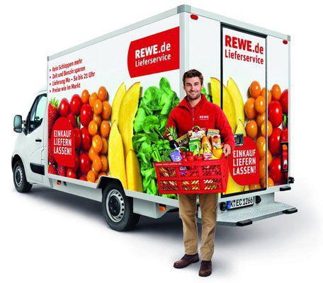 Rewe Lieferservice 10€ Rewe Lieferservice Gutschein mit 40€ MBW   auch für Bestandskunden!