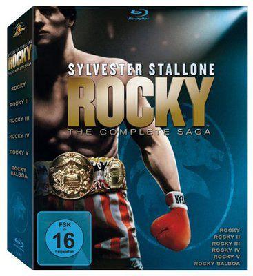 Rocky 1 6   The Complete Saga auf Blu ray ab 19,99€