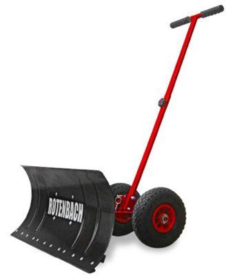 Rotenbach Schneeschieber mit Rädern für 36,90€