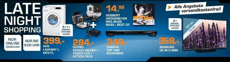 GOPRO Hero3+ Silver Bundle Edition für 284€  – und mehr Saturn Late Night Angebote   Update!
