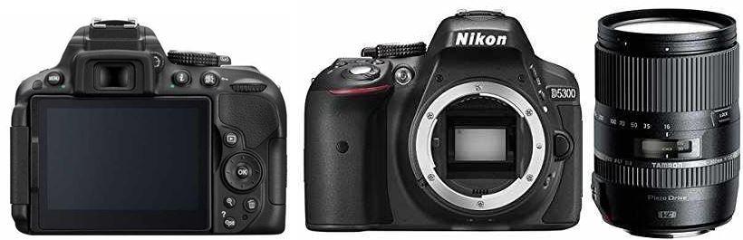 Nikon D5300   24MP SLR Kamera inkl. TAMRON 70   300 mm Objektiv für 503,99€ (statt 590€)