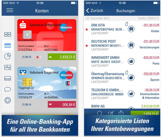 Screenshot 2014 12 12 17.18.21 App Tipp: Mit FinanzAssist alle Konten verwalten und mehr