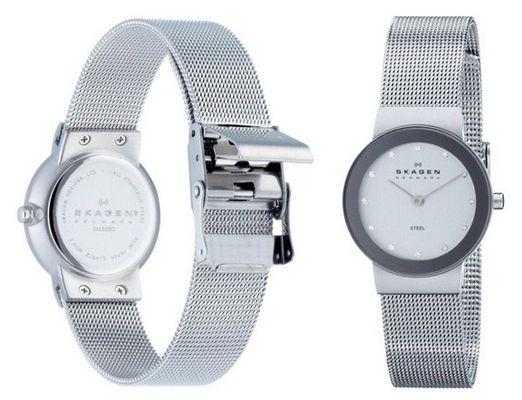 Skagen 358SSSD Slimline Damenarmbanduhr für 79€