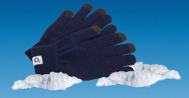 Kostenlose Smartphone Handschuhe im o2 Winterkalender