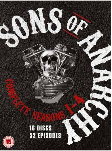 Sons Sons of Anarchy   Staffel 1 4 in DVD Box mit OT für 12,59€ inkl. Versand