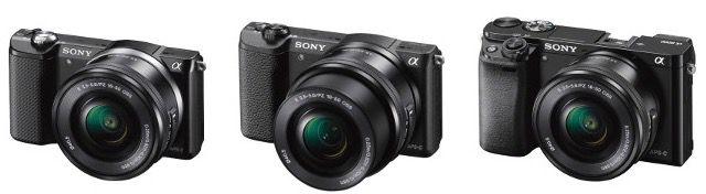 20% Rabatt auf Sony Systemkameras und Actionscams – z. B. Sony Alpha 5000 für 280€