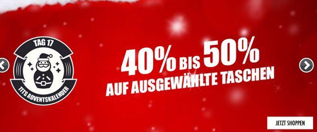 Sporttaschen 40 50% Rabatt auf Sporttaschen bei 11teamsports + 5€ Gutschein