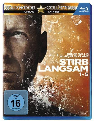 Stirb Langsam 1 5 Blu ray Box ab nur 19,97€