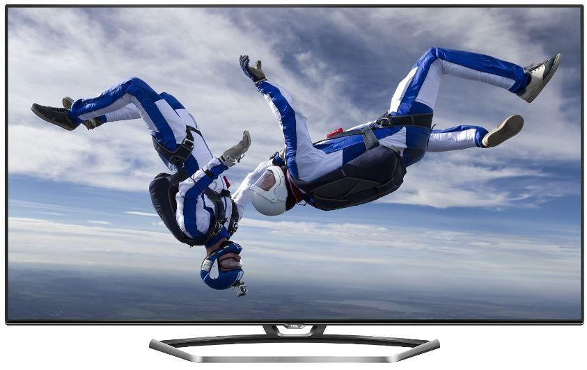 TLC TCL U49S7606DS   49 Zoll 4K 3D Wlan Smart TV mit triple Tuner + 2 Brillen für 555€