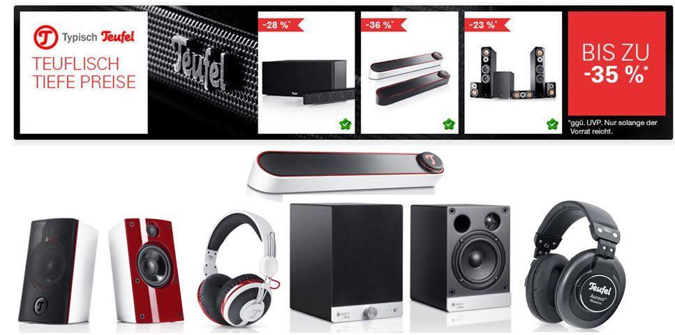 Teufel BT Bamster   portable Soundbar für 88€ im ebay Teufel Sale   Update