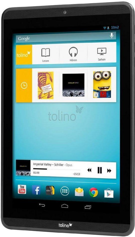Tolino Tolino Tab 8,9   Full HD 9 Zoll Android Tablet für 59,95€ (B Ware)