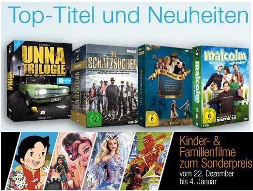 Filmtipps auf DVD oder Blu ray und mehr Amazon Angebote