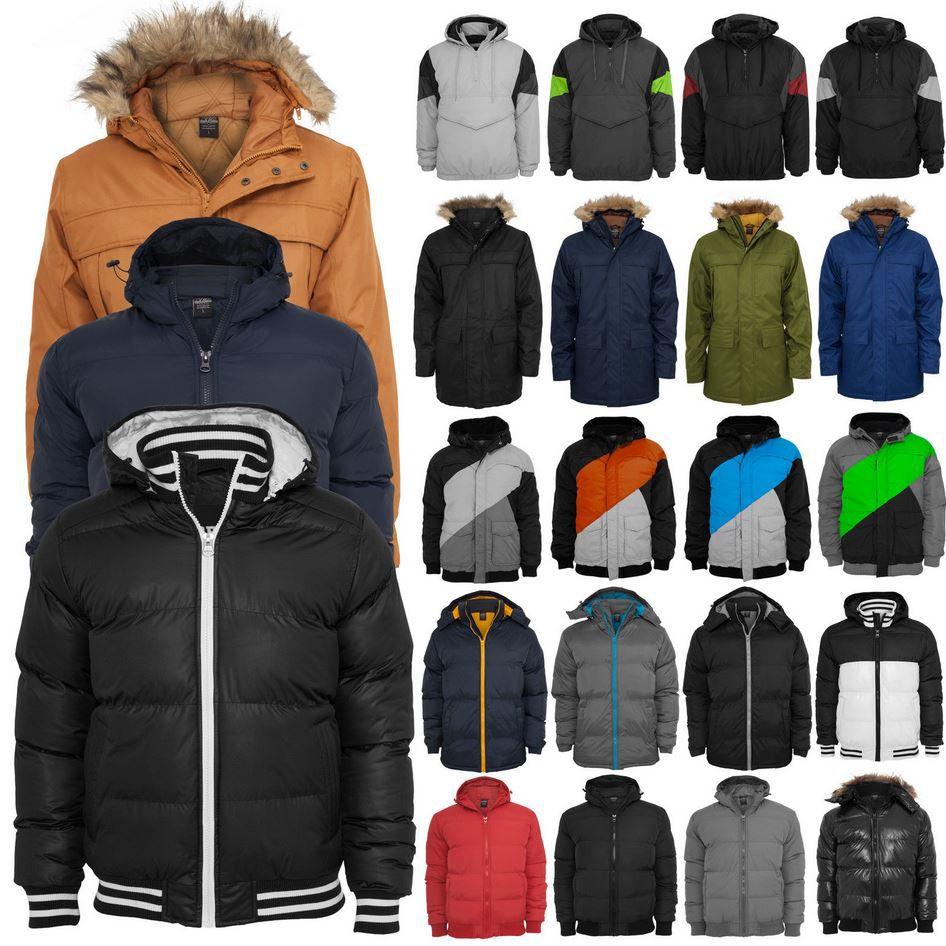 Urban Classics Herren Winterjacken in 26 verschiedenen Modellen für jeweils nur 29,90€