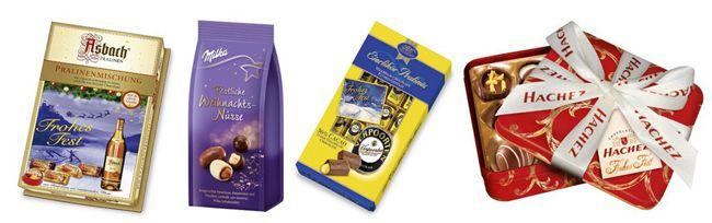 Weihnachtsschokolade 50% Extra Rabatt auf Weihnachtsschokolade und Weihnachtsbärchen bei Amazon