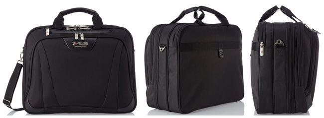 Wenger Business Deluxe Aktentasche (3 teilig, 17 Zoll Notebook Fach) für 57,95€