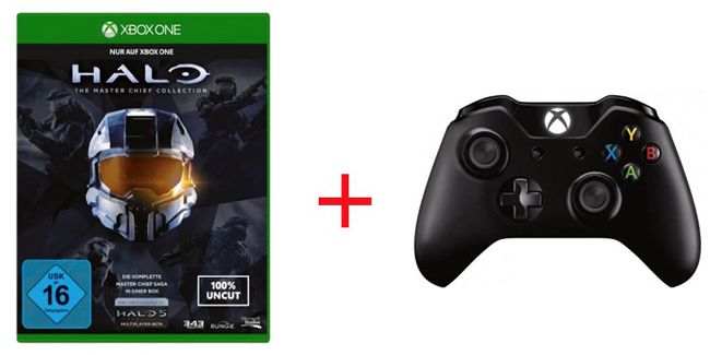 Xbox One Halo Halo: The Master Chief Collection + Xbox One Wireless Controller ab 74,98€