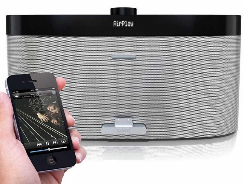 Gear4 PG539 Airzone Series 1   Airplay Dockingstation für Apple iPod/iPhone/iPad für 59,99€
