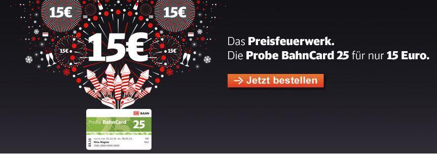 3 Monate BahnCard 25 für mich für 15€ testen   muss eigenständig gekündigt werden!