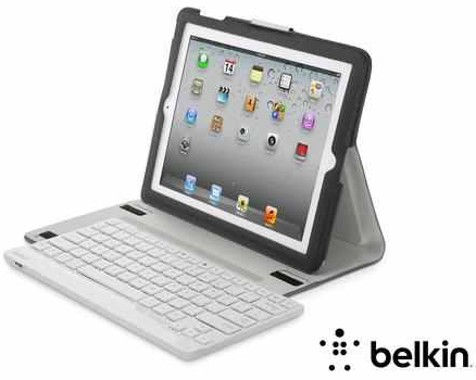 Belkin QODE YourType   Schutzhülle mit Bluetooth Tastatur statt 46€ für 16,99€