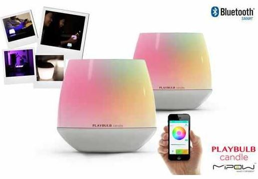 MiPow Playbulb Bluetooth Candles   doppelpack für 35,90€