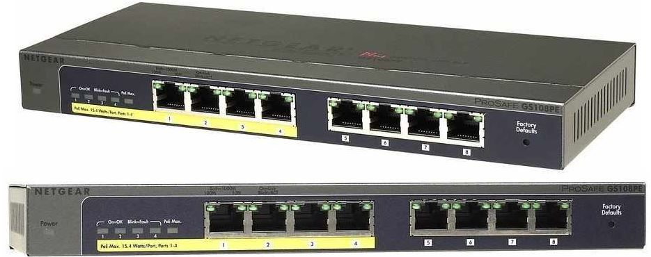 Netgear Gigabit 8 Port Switch für 65,90€