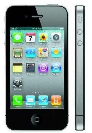Apple iPhone 4   8GB in schwarz für 79,90€