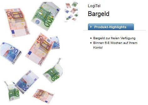 logitel Telekom Talkline Talk Easy 100 Vertrag   dank Auszahlung 2,90€ monatl. Kosten   Update