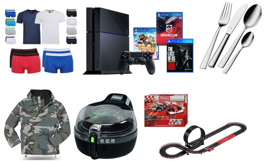 Sony Playstation 4 / PS4   SuperBundle 2 (Driveclub, Last of Us, LBP 3) für 419€ beim ebay Super Deal Wochenende