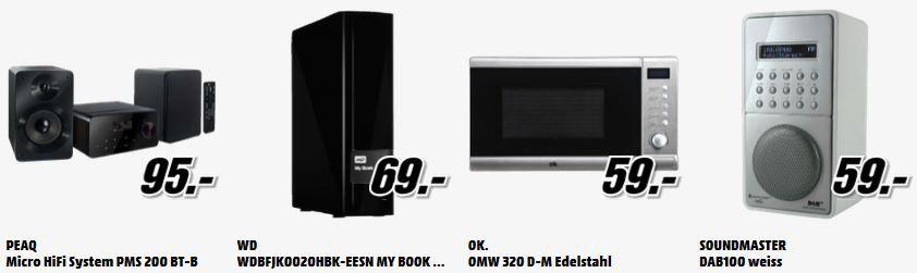tiefpreis2 WD My Book 2TB für 69€ und mehr MediaMarkt Angebote