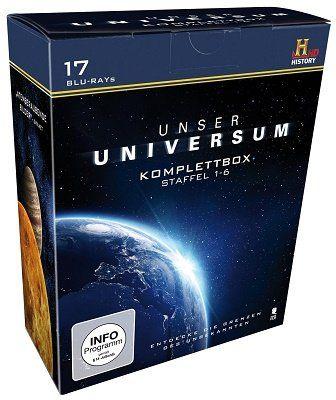 Unser Universum Komplettbox (Blu Ray) für 18,97€