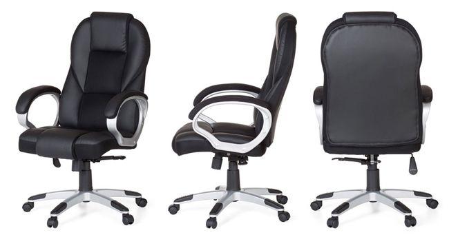 Amstyle Race Bürostuhl mit synchronisierter Mechanik für 121,05€