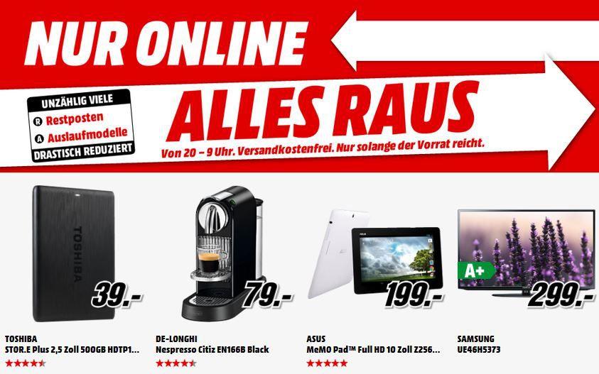 LG G3 32GB in weiß für 299€   und mehr gute MediaMarkt Angebote: Alles Muss Raus