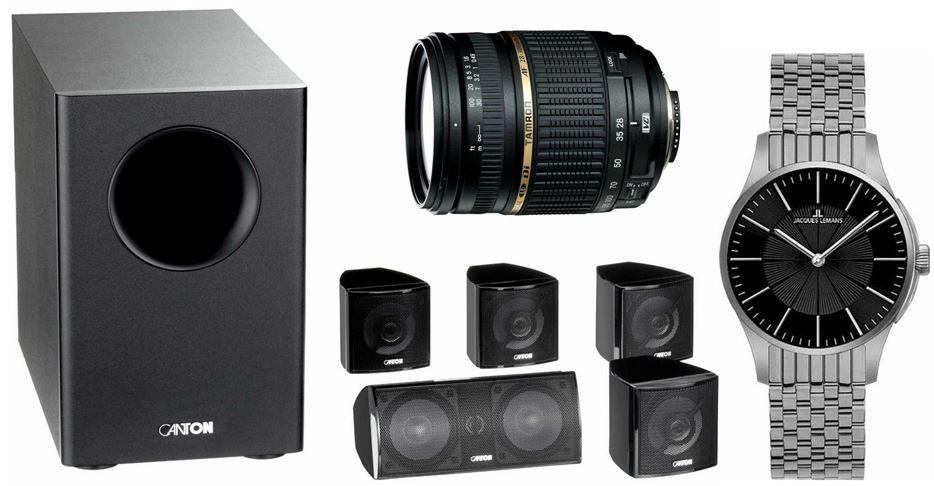 Amazon Blitzangebote18 Canton Movie 85 CX 2 Wege 5.1 Lautsprecher für 159€ bei den 24 Amazon Blitzangeboten ab 18Uhr