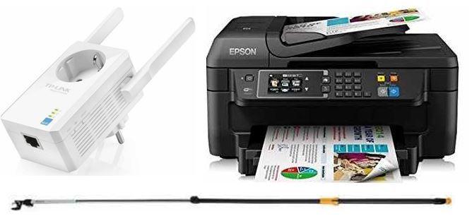 Epson WorkForce Tintenstrahl Multifunktionsgerät – bei den 31 Amazon Blitzangeboten bis 11Uhr