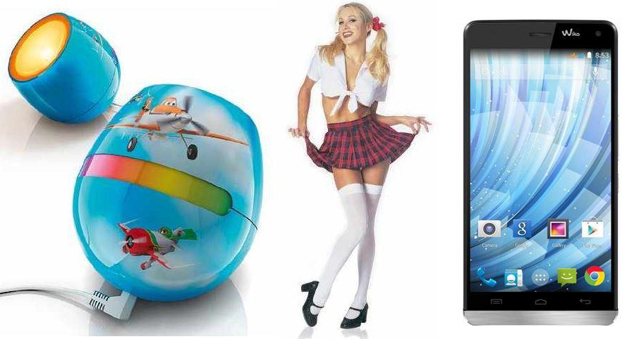 Wiko Getaway Smartphone Dual SIM für 179€ bei den 18 Amazon Blitzangeboten ab 18Uhr