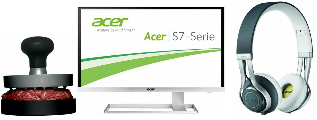 Acer S277   27 Zoll UHD ZeroFrame Monitor   bei den 38 Amazon Blitzangeboten bis 11Uhr