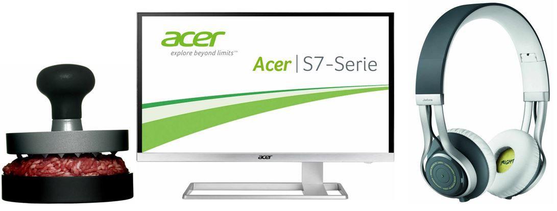 Amazon Blitzangebote32 Acer S277   27 Zoll UHD ZeroFrame Monitor   bei den 38 Amazon Blitzangeboten bis 11Uhr
