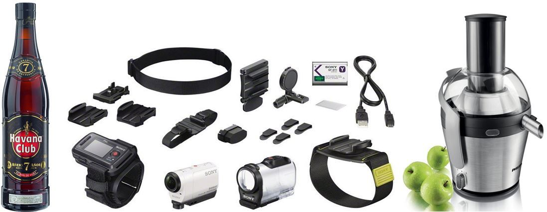 Sony HDR AZ1 Wearable Mini Format Action Kamera Kit für 309€   bei den 31 Amazon Blitzangeboten ab 18Uhr